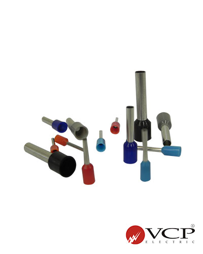 terminal de r/ápido ladrones Electricidad conectores r/ápidos conector del cable Rojo//Azul 45050